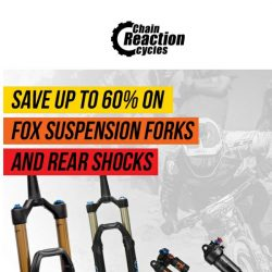 [Chain Reaction Cycles] Fox Suspension: 60% Off