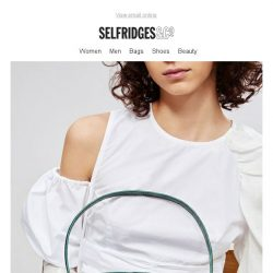 [Selfridges & Co] Throwing shapes