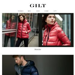 [Gilt] Moncler for Women, Men & Kids | Up to 90% Off Beauty
