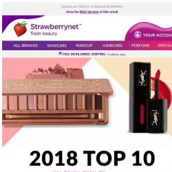 [StrawberryNet] 👑 Top 10 Makeup Hits of 2018: See Why Fans are Obsessed!