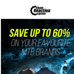 [Chain Reaction Cycles] Take it off: 60% off