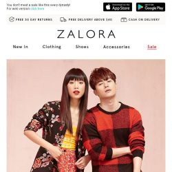 [Zalora] 🏮 The CNY Special: EXTRA 30% Off