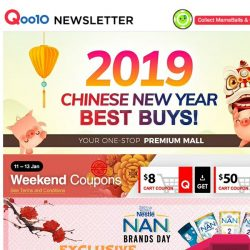 [Qoo10] Exclusive CNY Deals On Nestle Nan Brand Day! With Above 16% Off And Grab Special Shop ANGBAO to Save More!!