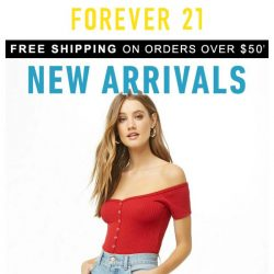 [FOREVER 21] Say hey to 314 new arrivals!