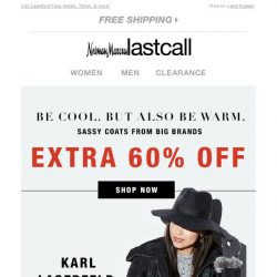 [Last Call] Be cool. But also be warm + extra 60% off