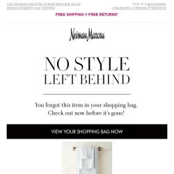 [Neiman Marcus] The items you want are waiting...
