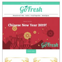 [GoFresh] GoFresh: Up to 15% off CNY Specials