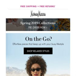 [Neiman Marcus] You're going places