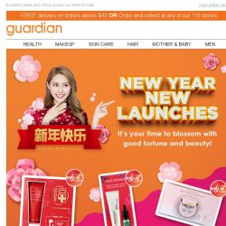 [Guardian] 🍊 Huat ah! New Year, New Launches!
