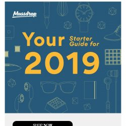 [Massdrop] Our guide to crushing your 2019 resolutions