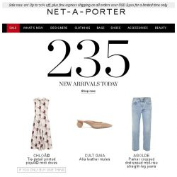 [NET-A-PORTER] , shop the drop now: New pieces by Chloé, Balenciaga and more…