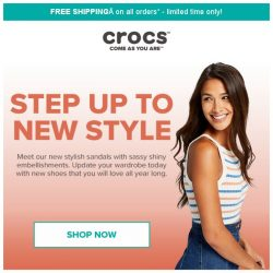 [Crocs Singapore] Brand New Flips & Sandals only for HER💋