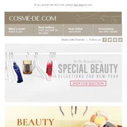 [COSME-DE.com] Beauty Selection by COSME-DE