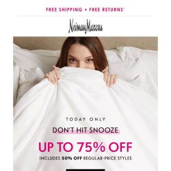 [Neiman Marcus] Today: 75% off shoes, handbags, men's & more