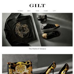 [Gilt] The World of Versace for Women & Men | Manolo Blahnik