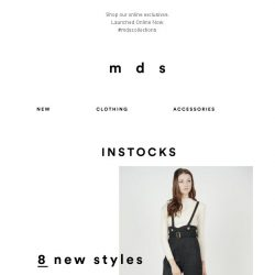 [MDS] Online Exclusives | NEW IN
