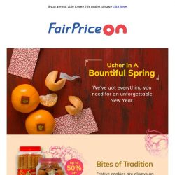 [Fairprice] Complete your New Year feasts!