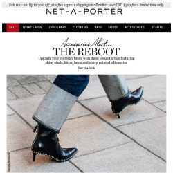 [NET-A-PORTER] It's time for a reboot