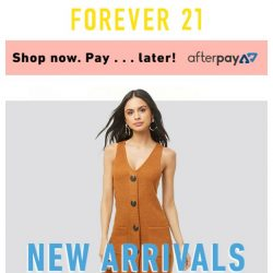 [FOREVER 21] ♡ SO FRESH, SO NEW ♡