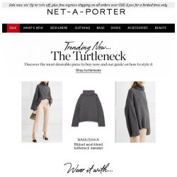 [NET-A-PORTER] The knit you'll wear on repeat