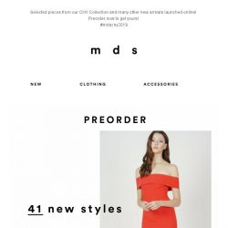 [MDS] Your Most-Wanted CNY Styles and Many More! | 41 NEW STYLES ONLINE
