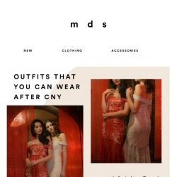 [MDS] Outfits that you can wear again after CNY