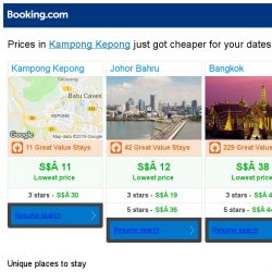 [Booking.com] Prices in Kampong Kepong are dropping for your dates!
