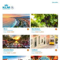 [KLM] ✈ , grab your Dream Deal now!
