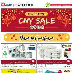 "[Qoo10] ""Oink Oink"" CNY Sale! Dare to Compare! For Your Home & Love Ones!"