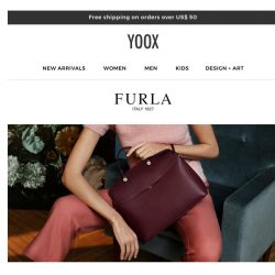 [Yoox] The new FURLA collection has arrived