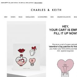 [Charles & Keith] We Miss You - Here's A Little Gift 💌