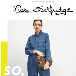 [Miss Selfridge] 20% off for students ENDS MIDNIGHT!