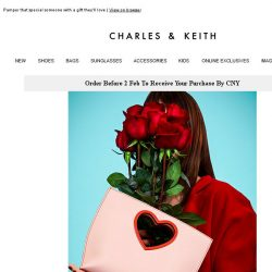 [Charles & Keith] Spread The Love This Valentine's Day