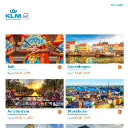 [KLM] ✈ , book your Dream Deal before you miss out!