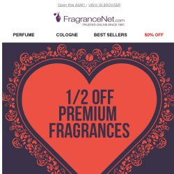 [FragranceNet] Fragrances up to 80% Off? Yes, please!
