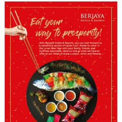 [Berjaya Hotels & Resorts EDm] Toss Your Yee Sang With Us!
