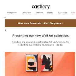 [Castlery] Presenting - Our Wall Art Collection.