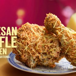 KFC: NEW Cheesy Parmesan Truffle Chicken Available for a Limited Time Only!