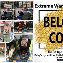 Baby's Hyperstore: Branded Baby Warehouse Sale with Up to 90% OFF Baby Products