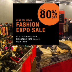 Wing Tai Retail: Fashion Expo Sale with Up to 80% OFF Adidas, G2000, i.t, Topshop, Warehouse & More