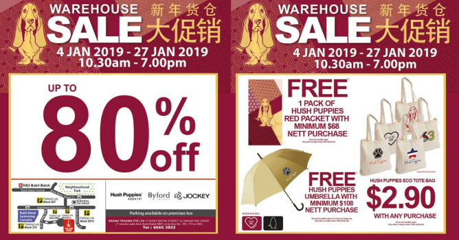 Hush Puppies Apparel Warehouse Sale is happening just in time for CNY  shopping! Get your new clothes from Hush Puppies Apparel 26463d016a