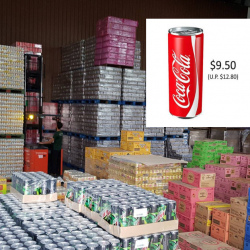 Gourmet Supplies: 2019 CNY Crazy Warehouse Sale with Carton Drinks from only $3 Onwards!