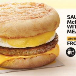 McDonald's: Treat Yourself to a Sausage McMuffin with Egg Meal from Just $4.50 for a Limited Time Only!