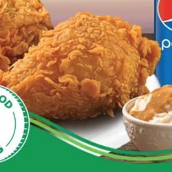 GrabFood: Get a 2pcs Popeyes Chicken Combo at only $1 This Week!
