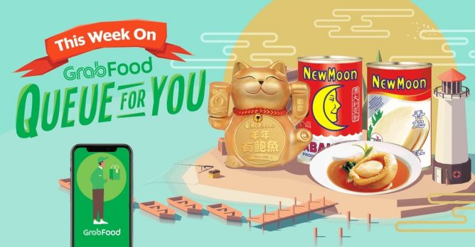 GrabFood: Use Promo Code to Get 30% OFF New Moon Abalone products