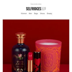 [Selfridges & Co] Treat yourself this Valentine's Day