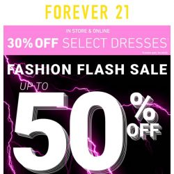 [FOREVER 21] Um, babe... You know there's a sale, right?