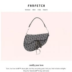 [Farfetch] Nothing quite says 'I love you' like Prada, Gucci and more