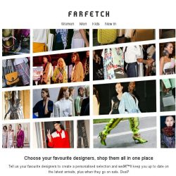[Farfetch] Farfetch: personalised for you