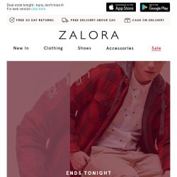 [Zalora] 🍊 Last chance: 40% OFF our best styles!
